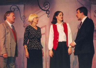 John Hall, Liz Bird, Rosalyn Chalk, Tony Lacey (l to r)