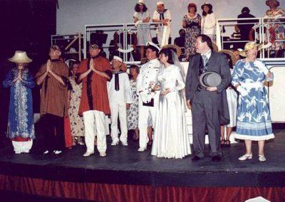 Elizabeth Bird, Julian Wilson, Kevin Hirons, John McGrath, Alison Adams, Tony Jay, Brenda Cooper (front, l to r)