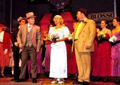 Tony Lacey, Mark Williams, Liz Bird, Tony Jay (front, l to r)