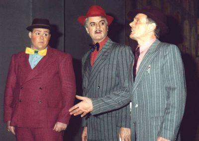 Tony Jay, Julian Wilson, Alan Hirons (l to r)