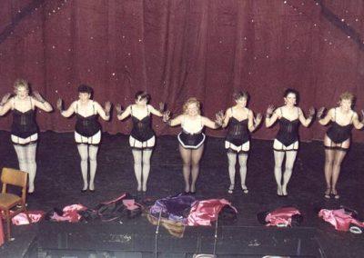Jane Cahill, Jean Chalk, Alison Kift, Loraine Wainman, Linda Beck, Kirsty Hirons, Paula Payne (l to r)