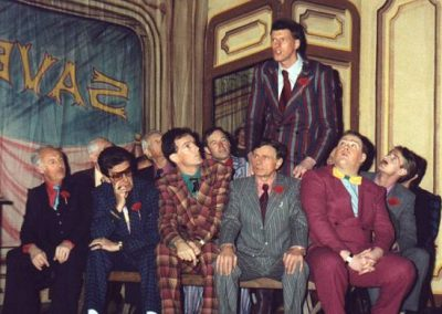 Bob Taylor, Barrie Cole, Tony Vater, Alan Hirons, Tony Jay (seated front, l to r), Tim Hull (standing)