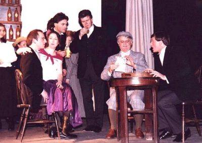 David Cooper, Jean McDonald, Julian Wilson, Kevin Hirons (seated, l to r), Jon Morris, John McGrath (standing centre, l to r)