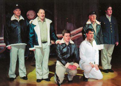Steve Sidaway, Nigel Buckley, James Haddock, Tony Lacey, Bob Taylor, Jonathan Southall (l to r)