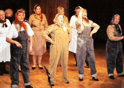 Barbara Ziglis, Michelle Buckley, Joy Hatt, Sheila Greenfield (back, l to r), Jean Chalk, Sophie Grogan, Liz Bird, Pearl Taylor (front, l to r)