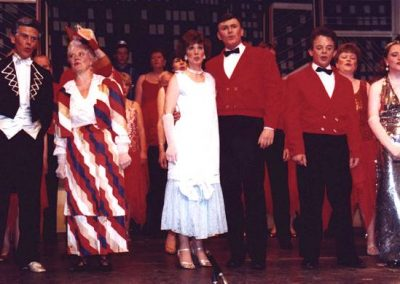 Barrie Cole, Eileen Parish, Barbara Hall, Kevin Hirons, John Simcock, Tracy Rees (front, l to r)