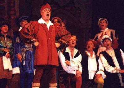 Julian Wilson and men's chorus