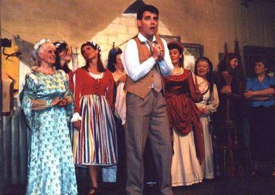 Tony Lacey and ladies chorus