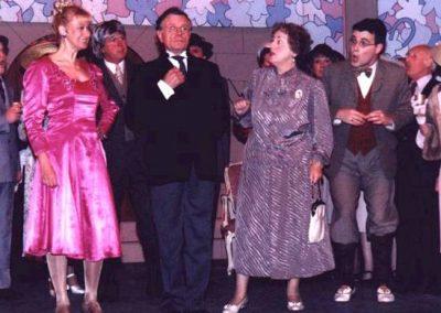 Liz Bird, Alan Hirons, Brenda Cooper, Tony Lacey (l to r)