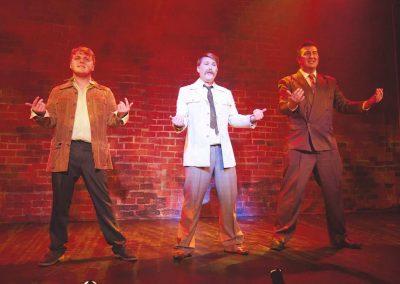 Xavier Reeves, Ryan Allen, Matt Bridgewater (l to r)