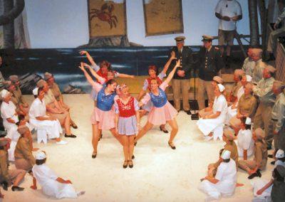 Alison Adams, Karen Perrey, Rosalyn Chalk, Joy Hatt, Paula Lacey, Carole Massey (dancers, l to r)