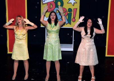Natalie Cropps, Roz Chalk, Natalie Emeny (l to r)