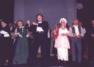 Molly Coles, Mavis Brazil, Tony Jay, Eileen Parish, Bob Taylor, Alan Hirons (l to r)