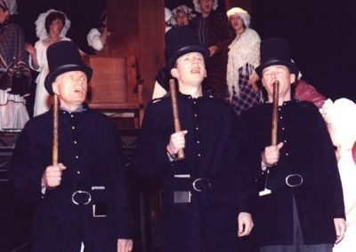 Alan Hirons, David Cooper, Bob Greenfield (l to r)