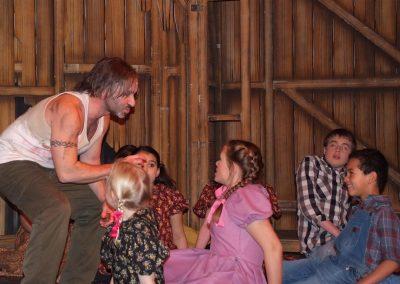 David Steele and kids