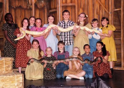 Real kids... real snakes!