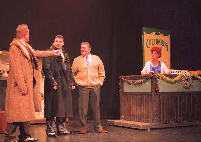 Ryan Allen-Rose, Paul Mitchell, Tim Eagleton, Ann Mayor (l to r)