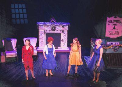 Laura Woodall, Ann Mayor, Jessica Taylor, Emma Sansom (l to r)