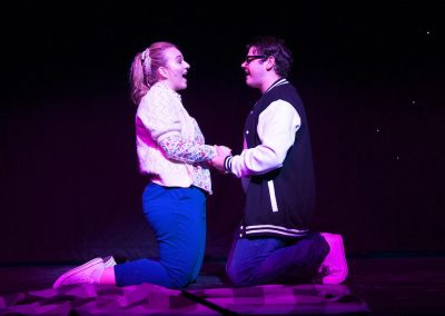 Mollie Hallahan as Jennifer and Paul Mitchell as Michael
