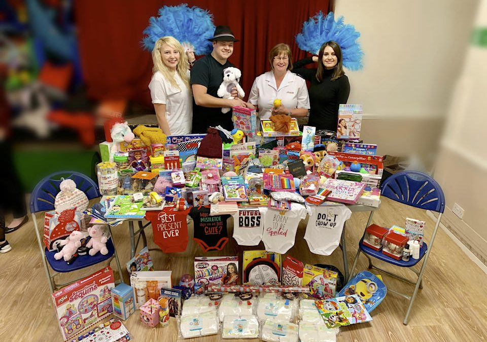 Donation to Salvation Army Christmas Toy Appeal
